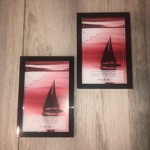 Picture frames 4 x 6 in